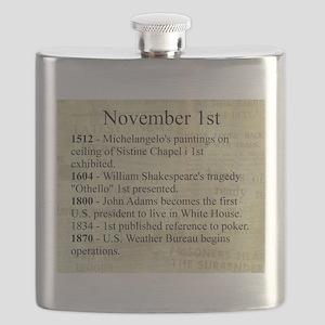 November 1st Flask