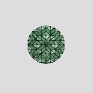 Green Marble Quilt Mini Button