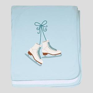 Skating Boots baby blanket