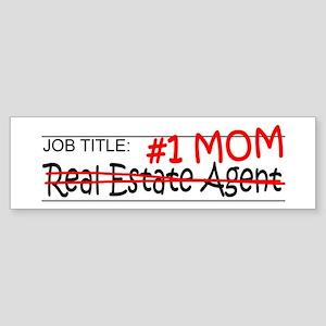 Job Mom Real Estate Sticker (Bumper)