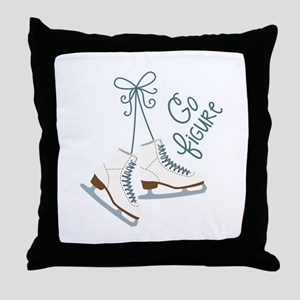 Go Figure Throw Pillow
