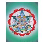 Fourth Chakra Poster - Anahata Chakra