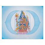 Sixth Chakra Poster - Ajna Chakra