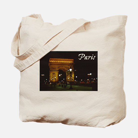 Cute Arch de triumph Tote Bag