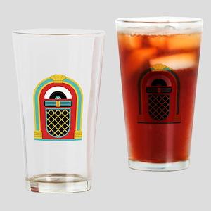 48. Jukebox Music Oldies Rock Roll Drinking Glass