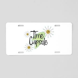 Time Capsule Aluminum License Plate