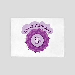 Enlightenment 5'x7'Area Rug