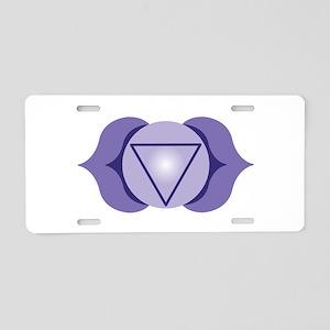 Blank Hindu Tantrism Aluminum License Plate