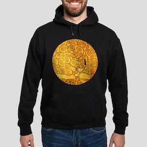 Gustav Klimt Tree of Life Art Nouveau Hoodie