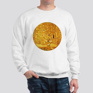 Gustav Klimt Tree of Life Art Nouveau Sweatshirt