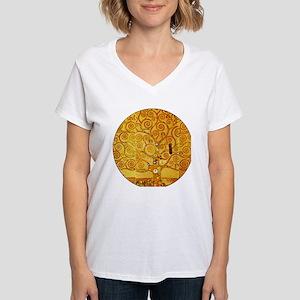 Gustav Klimt Tree of Life Art Nouveau T-Shirt