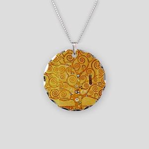 Gustav Klimt Tree of Life Art Nouveau Necklace