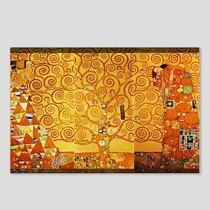 Gustav Klimt Tree of Life Art Nouveau Postcards (P