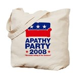 Apathy Party 2008 Tote Bag