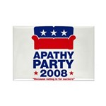 Apathy Party 2008 Rectangle Magnet