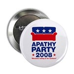 Apathy Party 2008 Button