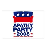 Apathy Party 2008 Postcards (Package of 8)
