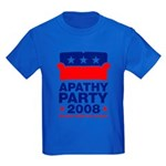 Apathy Party 2008 Kids Dark T-Shirt