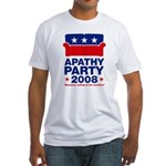 Apathy Party 2008 Fitted T-Shirt