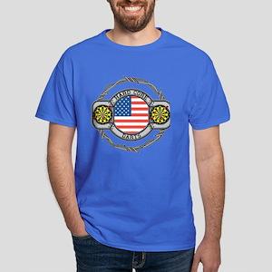 USA Hard Core Darts Dark T-Shirt