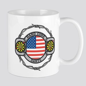 USA Hard Core Darts Mug