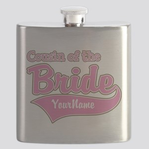 Cousin of the Bride Flask
