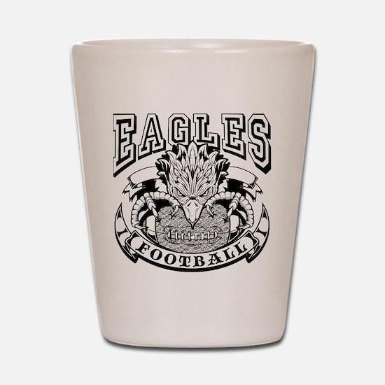 Eagles Football Shot Glass