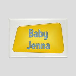 Baby Jenna Rectangle Magnet