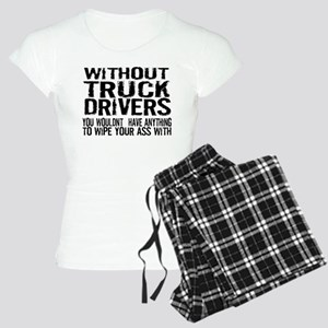 Without Truck Drivers Women's Light Pajamas
