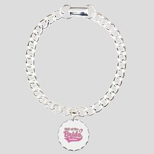 BFF of the Bride Charm Bracelet, One Charm