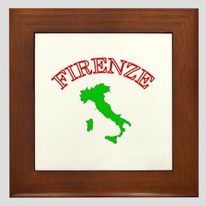 Firenze, Italia Framed Tile