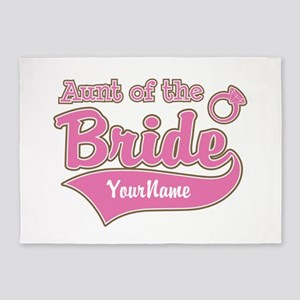 Aunt of the Bride 5'x7'Area Rug