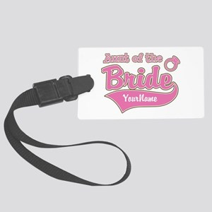 Aunt of the Bride Large Luggage Tag