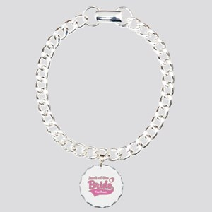 Aunt of the Bride Charm Bracelet, One Charm