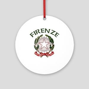 Firenze, Italia Ornament (Round)