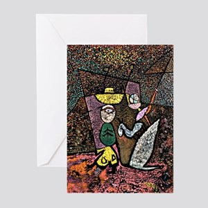 Klee - The Travelling Circus Greeting Cards