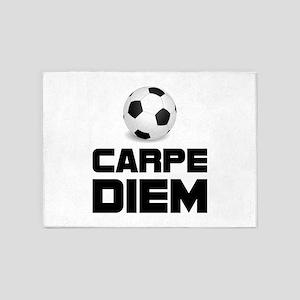 Carpe Diem Soccer 5'x7'Area Rug
