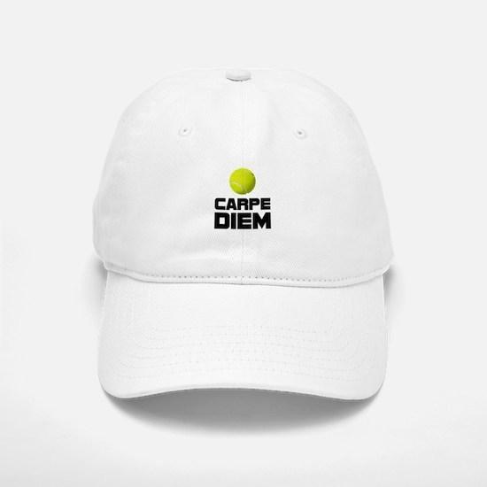 Carpe Diem Tennis Baseball Baseball Baseball Cap