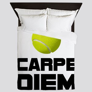 Carpe Diem Tennis Queen Duvet
