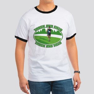 Mens Track and Field Ringer T