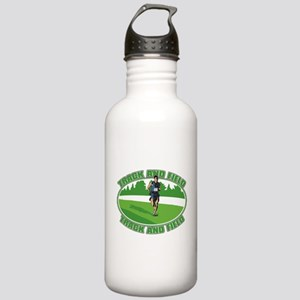 Mens Track and Field Stainless Water Bottle 1.0L