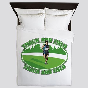 Mens Track and Field Queen Duvet