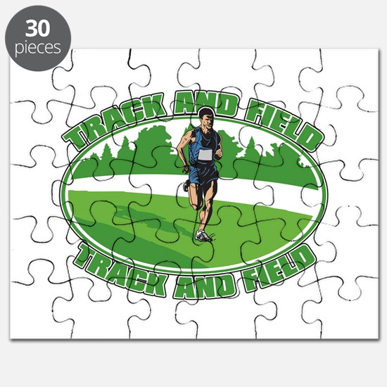 Mens Track and Field Puzzle