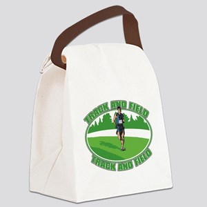 Mens Track and Field Canvas Lunch Bag