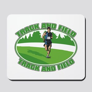 Mens Track and Field Mousepad