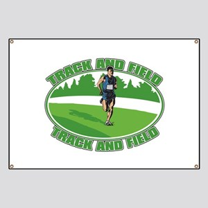 Mens Track and Field Banner