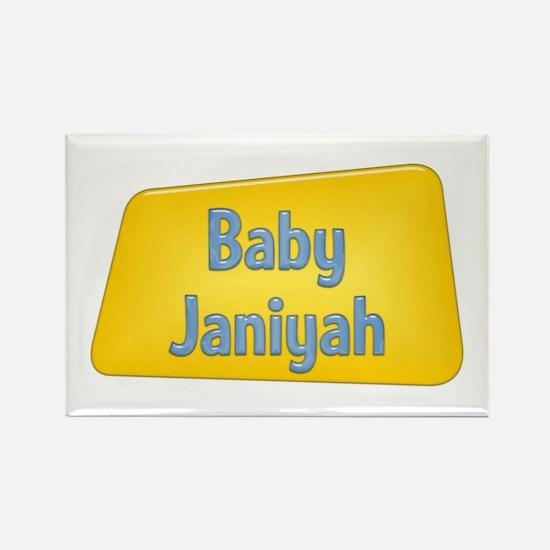 Baby Janiyah Rectangle Magnet