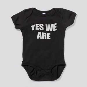 yes we are (see TWINS) Baby Bodysuit