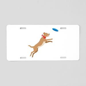 Frisbee Pup Aluminum License Plate