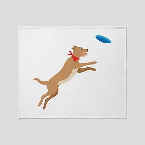 Frisbee Pup Throw Blanket